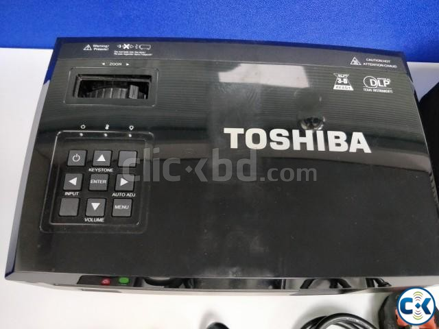 Toshiba NPX15A DLP Projector Black  | ClickBD large image 1