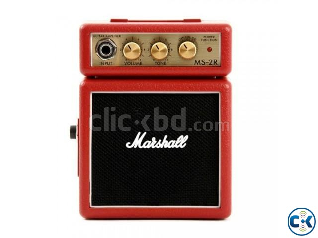 Marshall MS2 Micro Guitar Amplifier RED | ClickBD large image 0