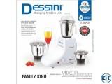 Dessini Mixer Grinder - 850W - White and Silver