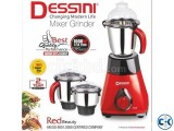 Dessini Mixer Grinder - 1000W - Black and Red