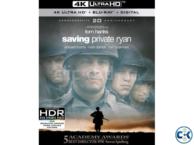 Saving Private Ryan 1998 4K HDR Dolby Vision UHD Blu-ray | ClickBD large image 0