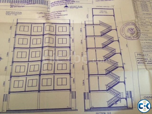 740 sft ready apartment at 25.80 lac | ClickBD large image 0