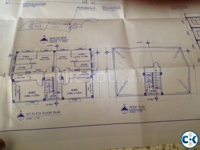 740 sft ready apartment at 25.80 lac | ClickBD large image 2