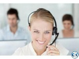 service centerjob female urgently needed