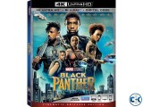 Black Panther 2018 4K UHD Blu-ray Dolby Vision HDR10