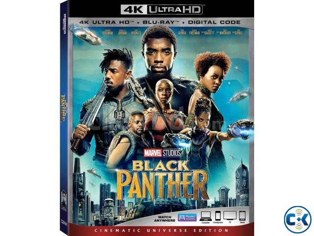 Black Panther 2018 4K UHD Blu-ray Dolby Vision HDR10  | ClickBD large image 0