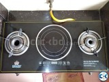 HYBRID GAS STOVE INDUCTION COOKER