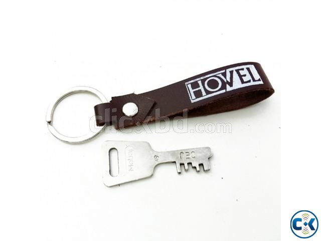 Leather Key Ring | ClickBD large image 0