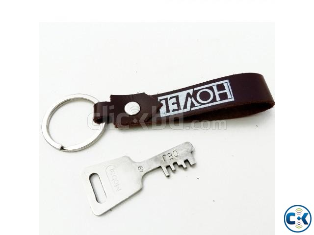 Leather Key Ring | ClickBD large image 1