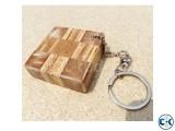 Block Key Ring