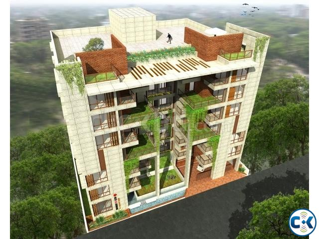 3850 sft Flat for sale Banani DOHS | ClickBD large image 1