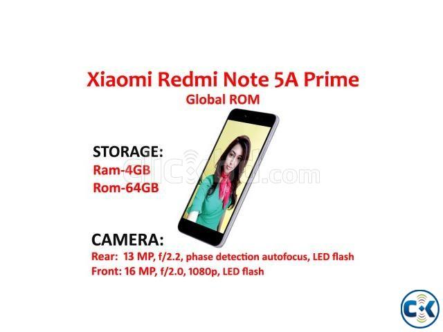Xiaomi Redmi Note 5A Prime 4GB 64GB Global ROM | ClickBD