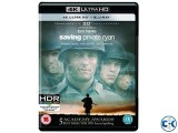Saving Private Ryan 4K HDR Dolby Vision UHD Blu-ray NEW