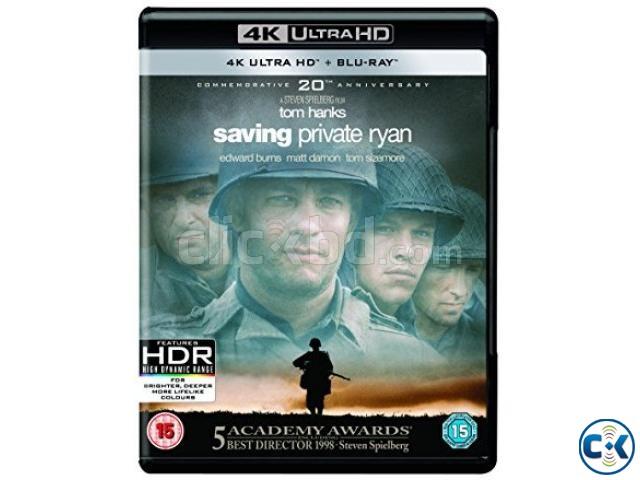 Saving Private Ryan 4K HDR Dolby Vision UHD Blu-ray NEW | ClickBD large image 0