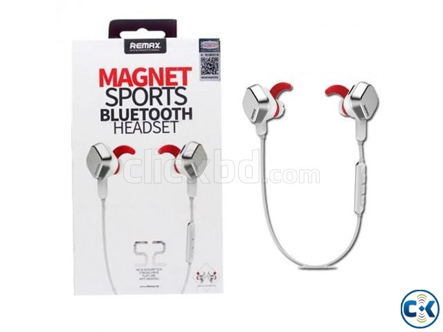 Remax RM-S2 Noise Cancelling Magnet Wireless Headset | ClickBD large image 0