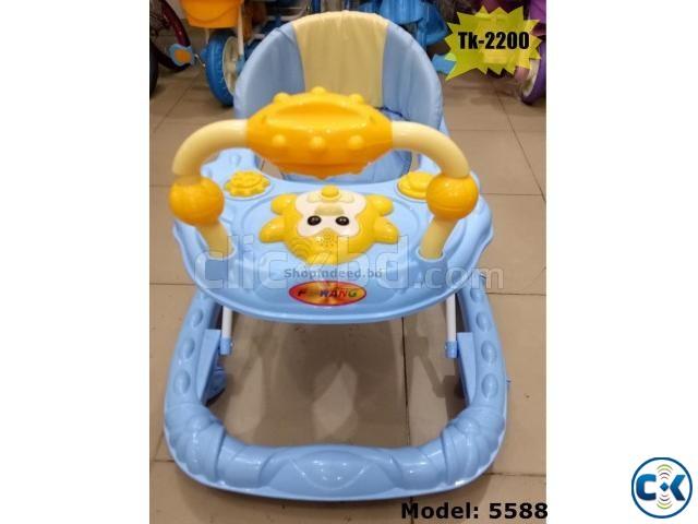 Stylish Brand New Baby Walker 5588 | ClickBD large image 0