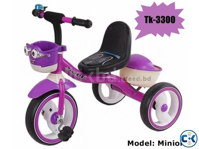 Stylish Brand New Baby Tri-Cycle Minion. | ClickBD large image 0