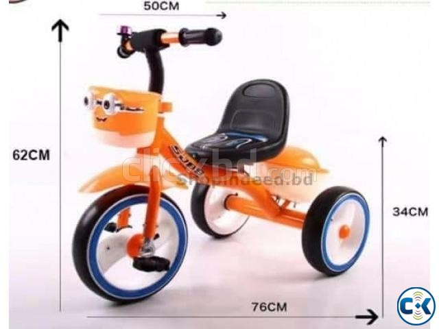 Stylish Brand New Baby Tri-Cycle Minion. | ClickBD large image 4