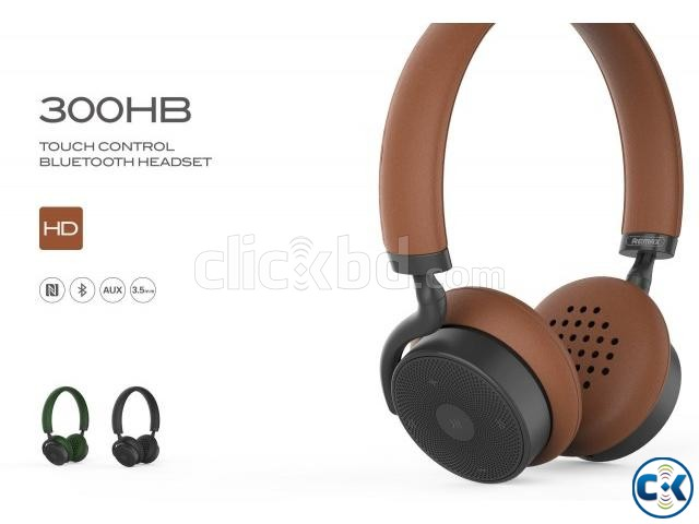 Remax RB-300HB Wireless Bluetooth Headphone With Touch Contr | ClickBD large image 0