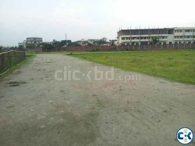 7 katha Ready Residential Plot for Sale at Tongi | ClickBD large image 0