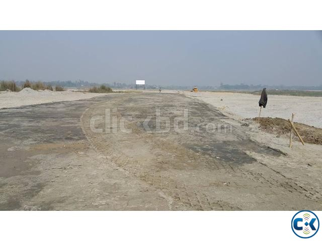8 katha Ready Residential Plot for Sale at Tongi   ClickBD large image 0