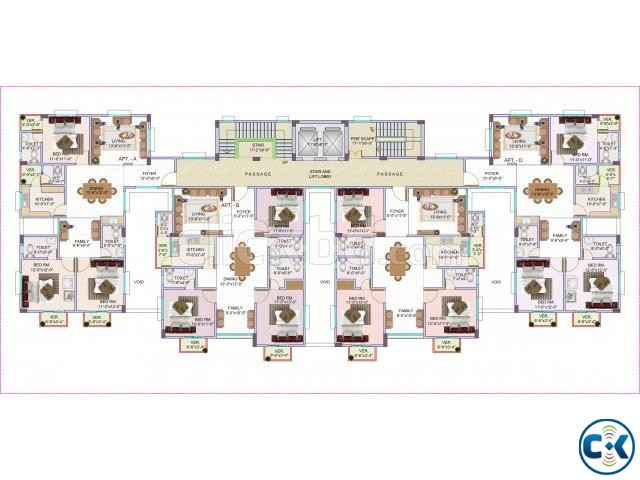 LUXURIOUS FLAT BESIDE APOLLO HOSPITAL | ClickBD large image 1