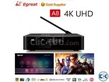 Egreat A8 4K Blu-Ray 2GB RAM 16GB ROM WiFi Media Player