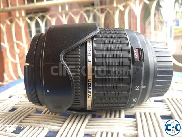 Nikon D5500 with 50mm 1.8g and Tamron 18-200mm Zoom lens | ClickBD large image 1
