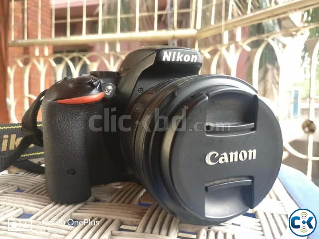 Nikon D5500 with 50mm 1.8g and Tamron 18-200mm Zoom lens | ClickBD large image 3
