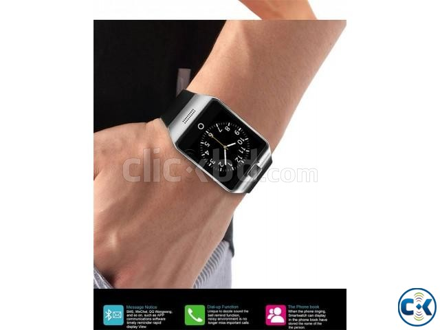 Q18 Smart Watch in BD Single Sim Gear | ClickBD large image 1