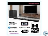 Pioneer SBX-101 Wireless Subwoofer Audio Soundbar Speaker