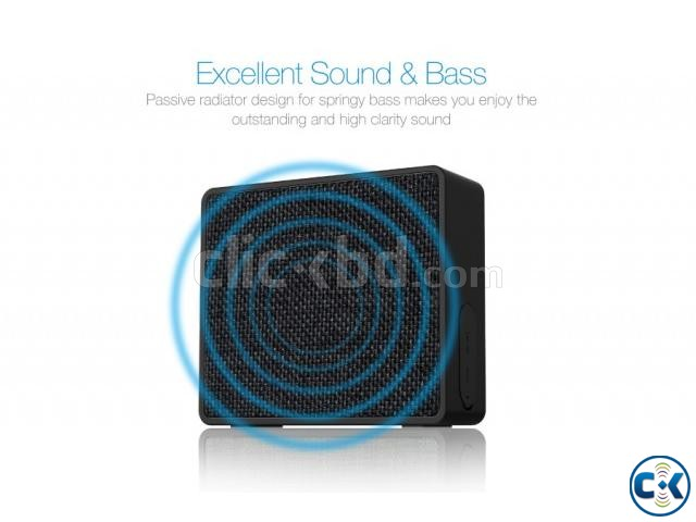 F D W5 Water Proof Portable Wireless Desktop Speaker | ClickBD large image 1