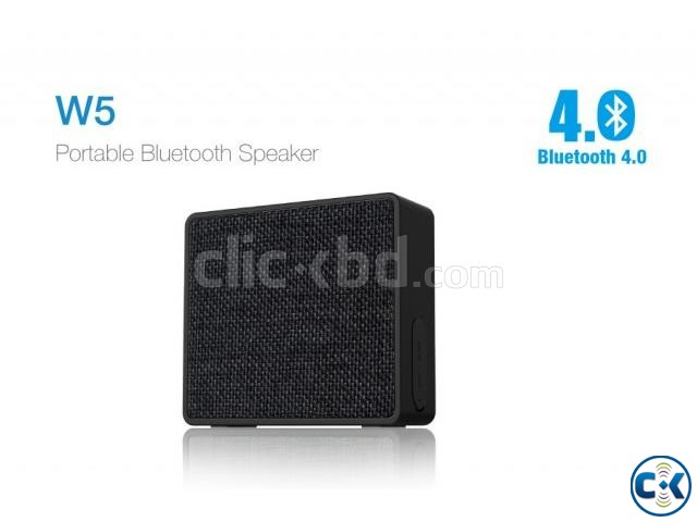 F D W5 Water Proof Portable Wireless Desktop Speaker | ClickBD large image 3