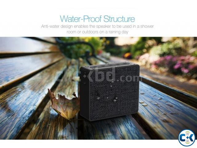 F D W5 Water Proof Portable Wireless Desktop Speaker | ClickBD large image 4