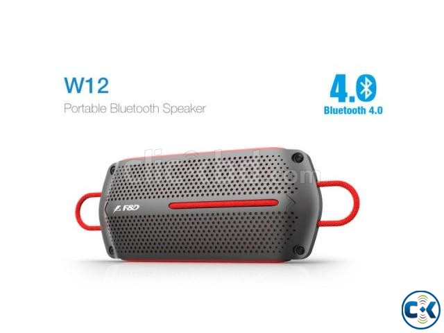 F D W12 Portable Bluetooth Water-Proof Wireless Speaker | ClickBD large image 0