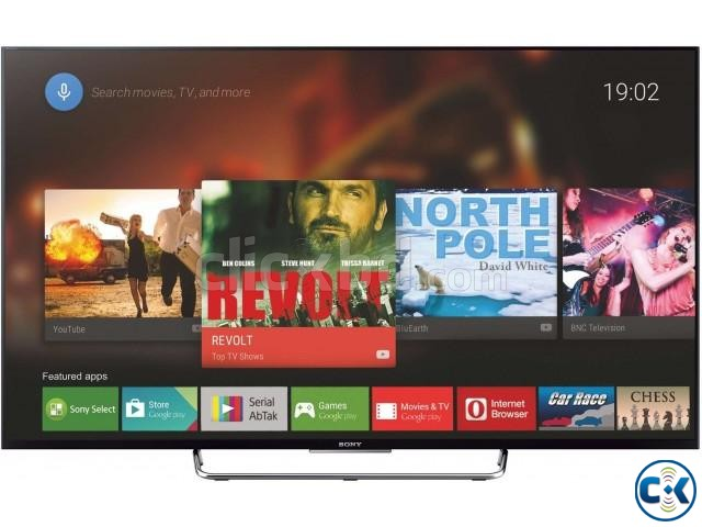 3Years Warranty 43 W800C Sony Bravia 3D Android LED TV | ClickBD large image 3