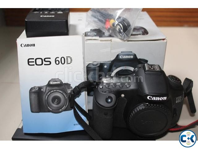 Unused Canon 60D | ClickBD large image 0