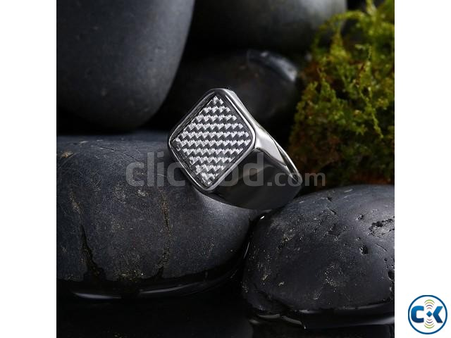 Black Finger Ring for Men | ClickBD large image 0