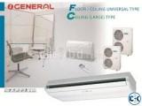 ABG54FBAG O'General 5 ton ceilling& cassete type ac
