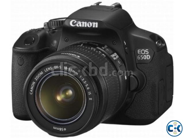 Canon EOS 650D Kit 18-55mm f 3.5-5.6 IS II   ClickBD large image 0