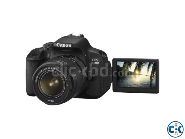 Canon EOS 650D Kit 18-55mm f 3.5-5.6 IS II   ClickBD large image 1