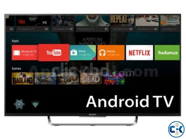 Sony Bravia X7500E 43 Flat 4K UHD Wi-Fi Smart Android TV | ClickBD large image 0