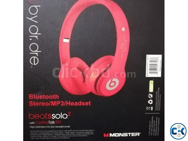 Bluetooth Headphone Wireless Beats Solo 2 Monster | ClickBD large image 0