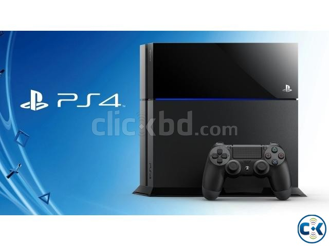 Sony PS4 500GB HDD Game Console BD | ClickBD large image 1