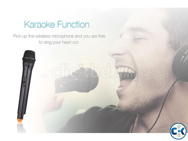 F D T2 Bluetooth 4.2 FM Crystal Sound Trolley Speaker   ClickBD large image 3