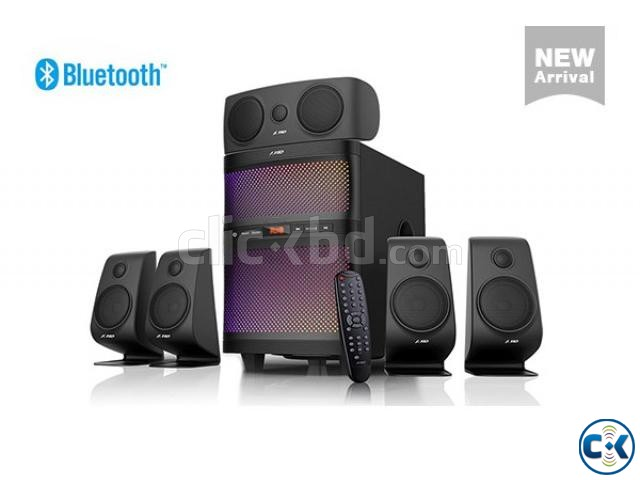 F D F5060X Bluetooth NFC 5.1 Home Audio Multimedia Speaker | ClickBD large image 0