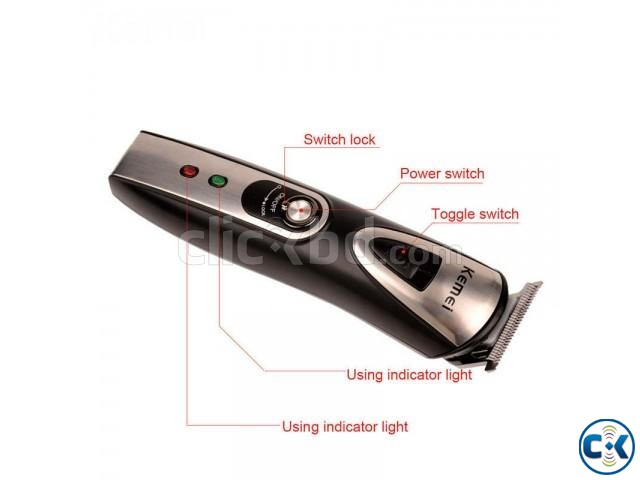 Kemei 5 in 1 Hair Trimmer Kit KM-1617  | ClickBD large image 0