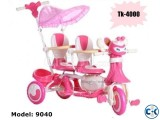 Brand New Double Sits Baby Tri-Cycle 9040