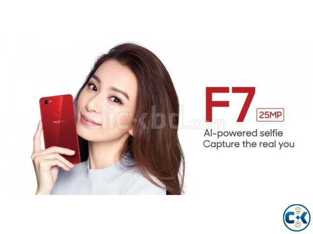 Oppo F7 64GB 1 Year Official Warranty | ClickBD large image 0