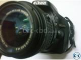Nikon D5200 with 18-55mm VRII Kit Lens